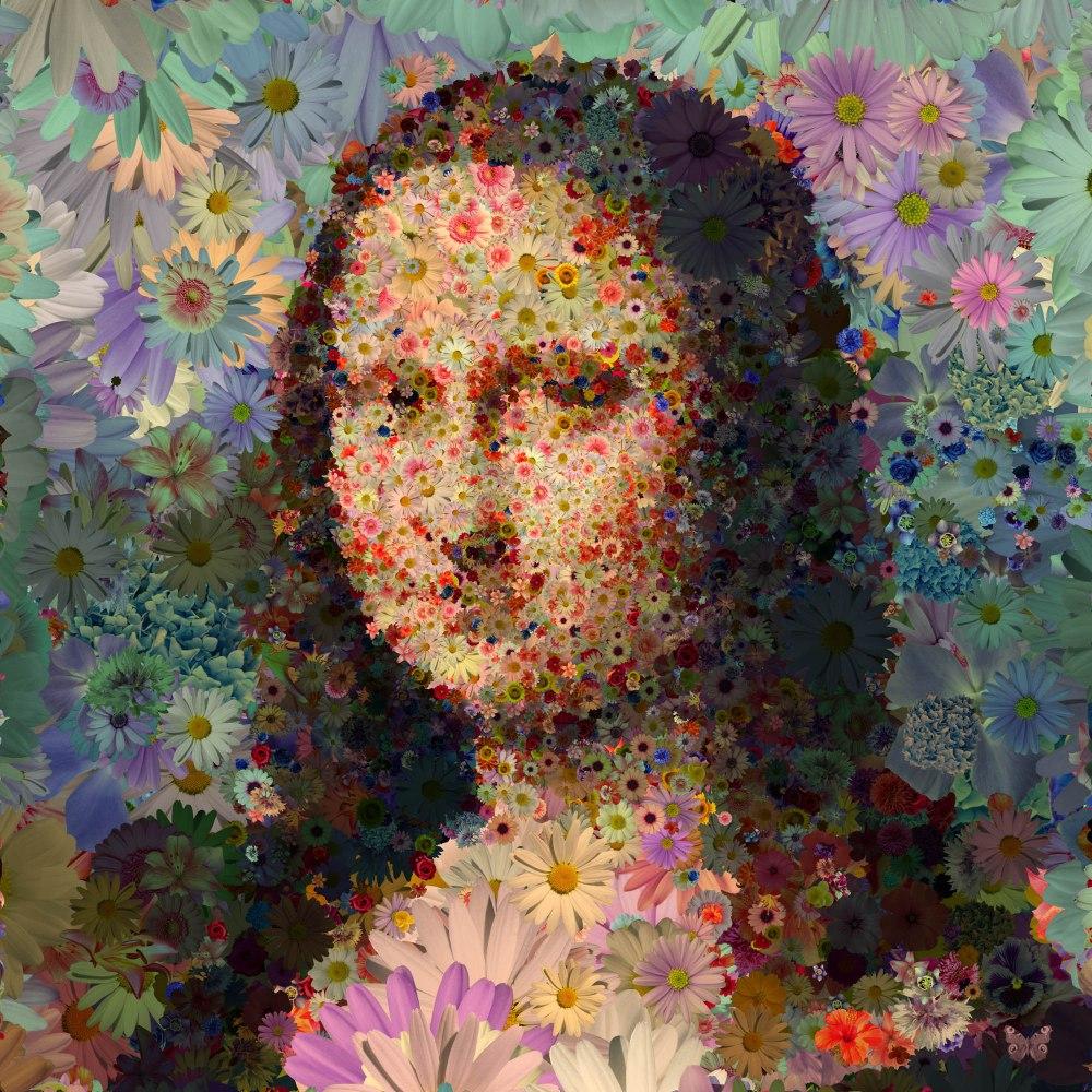 Lisa aux fleurs 2000